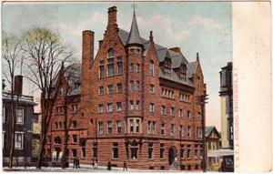 Providence YMCA Building, circa 1909
